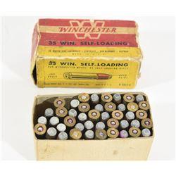 44 Rnds Vintage Winchester 35 SL 180grn