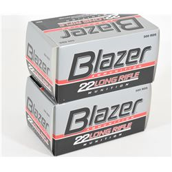 1000 Rounds Blazer 22 LR 40 grn