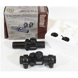 Two Bushnell Red Dot Scopes