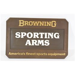 Browning Sign