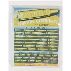 Remington Kleanbore Sign