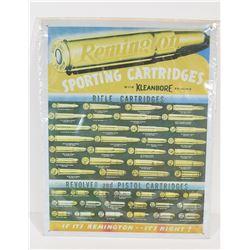Remington Kleanbore Sign