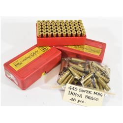 198 Cases of 445 Super Mag Brass