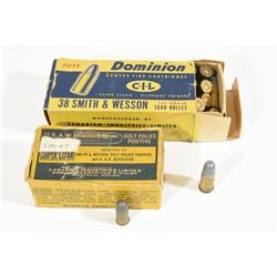 Vintage Smith & Wesson Pistol Ammo