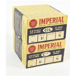 "50 Rounds Imperial 12 Ga. x 2 3/4"" Lead #6"
