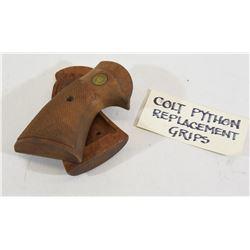 Colt Python Factory Grips