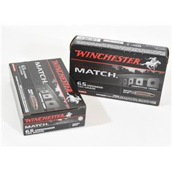 40 Rounds Winchester 6.5 Creedmore 140grn BTHP