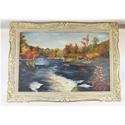 Antique Signed Original Canadian Landscape