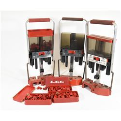 3 Lee Load-All Reloading Press With Extra Bushings