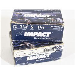 20 Rnds Impact Tungsten Matrix 12Ga