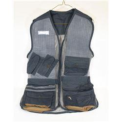 Size Large Blue Shooting Vest
