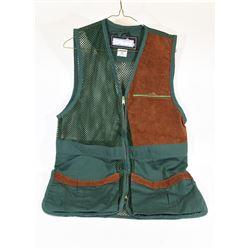 Left Handed Medium Green Shooting Vest