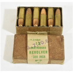 12 Rounds 380 Revolver Mk 2 Ammo