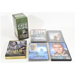 War DVDs and VHS Documentaries & Movies