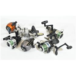 6 Used Fishing Reels