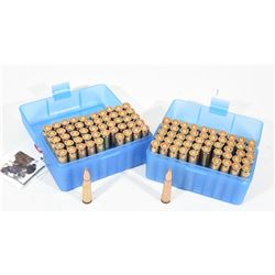 100 Rounds 7.62x39 Ball Ammo in MTM Cases