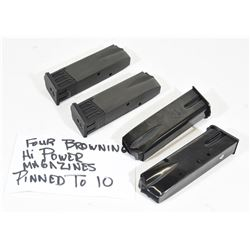 4 Browning High Power Magazines
