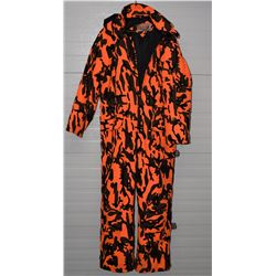 Winchester Brand Coverall Orange & Black Camo