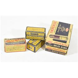 Vintage Boxes of Ammo