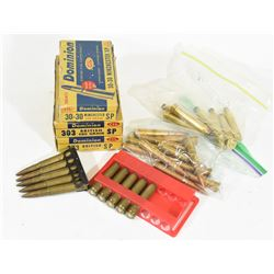 Rifle Ammunition in Vintage Boxes
