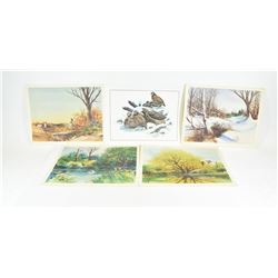 1970's Wildlife Prints
