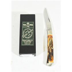 Queen Cutlery #19 Stag Slip Joint Folder Knife