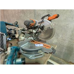 "RIDGID 12"" COMPOUND MITER SAW WITH LASER"