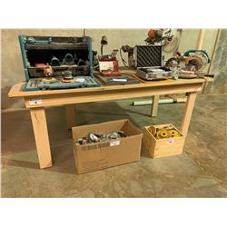 WOODEN CORNER ANGLE HEAVY DUTY WORK BENCH