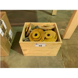 BOX OF TURB SAND INDUSTRIAL SANDING HEADS