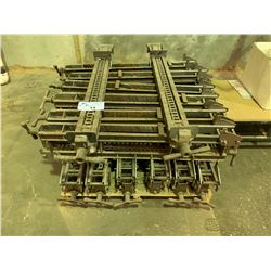PALLET OF STEEL INDUSTRIAL FRAME CLAMPS