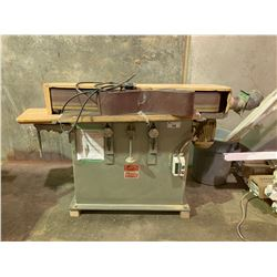 PROGRESS MACHINERY MODEL PMC-150 3 PHZ, 2 HP, 220/440 V, 6  X 4' EDGE SANDER WITH EXTRA SANDING