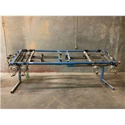 BLUE PNEUMATIC PRESS TABLE
