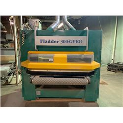 FLADDER 300/GYRO 1300MM, 3X460 V, 60HZ, 63 AMP DEBURRING MACHINERY WITH EXTRA BRUSHES