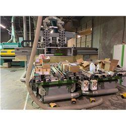 BIESSE ARROW ATS 7 BAR 30M/SEC, 9000KG , WOOD CNC WITH POWER SUPPLY SHUT OFF TRANSFORMER, MOBILE