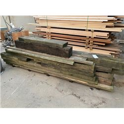 PALLET OF OLD WOOD