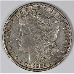 1884-S MORGAN SILVER DOLLAR