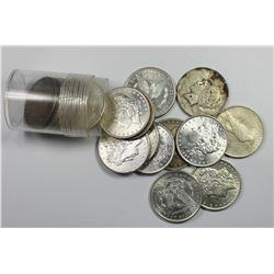 SILVER DOLLAR LOT: GEM BU: 18 COINS TOTAL