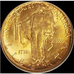 1926 SESQUI $2.50 GOLD