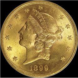 1899 $20.00 GOLD