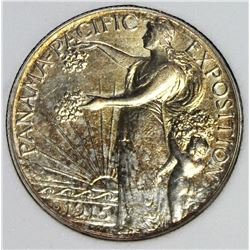 1915-S PANAMA-PACIFIC HALF DOLLAR
