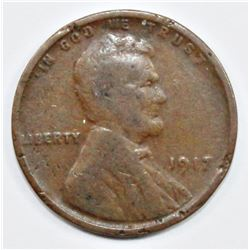 1917 LINCOLN CENT