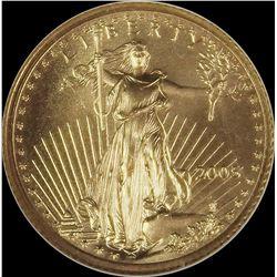 2005 $5.00 GOLD EAGLE