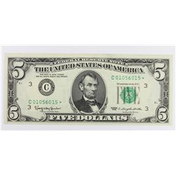 1963 $5.00 FEDERAL RESERVE NOTE