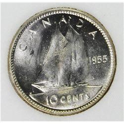 1955 CANADA DIME