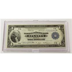 1918 $1.00 ATLANTA FEDERAL  RESERVE NOTE