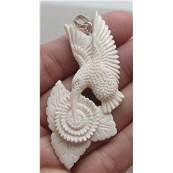 Hand Craved Pendant