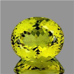 Natural Green Gold Lemon Quartz 43.31 Cts - FL