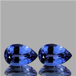 Natural Top Ceylon Blue Sapphire Pair {Flawless-VVS1)