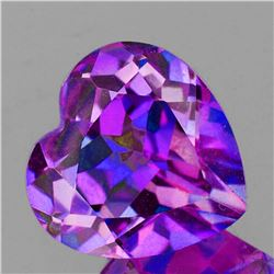 Natural Pinkish Purple Heart Mystic Topaz 16 MM - FL