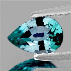 Natural Brilliant Seafoam Blue Zircon {Flawless-VVS1}